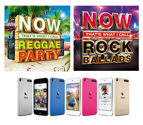 Now reggae now rock ballads ipad competition