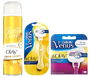 Venus olay razor competition