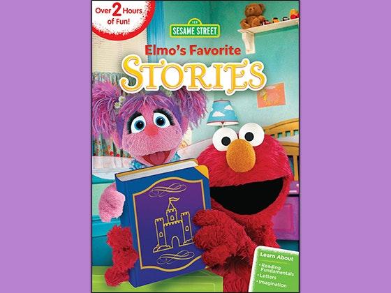 Elmo favorite stories giveaway