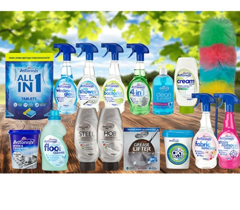 Astonish cleaning products competition