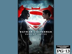 Batman v superman giveaway