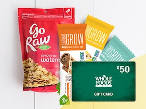Whole foods and go raw giveaway