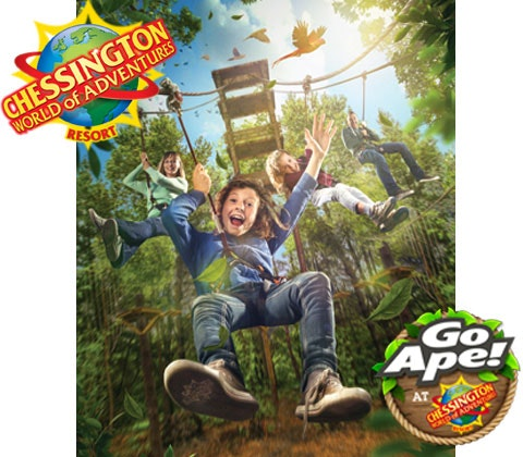 Chessington go ape chessington world of adventure competition