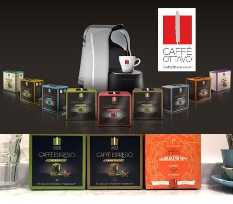 Caffe ottavo coffee machine competition