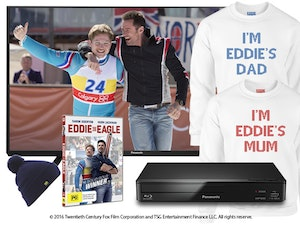 Eddie the eagle prize