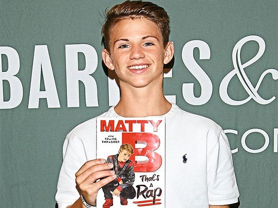 Matty b qf book giveaway