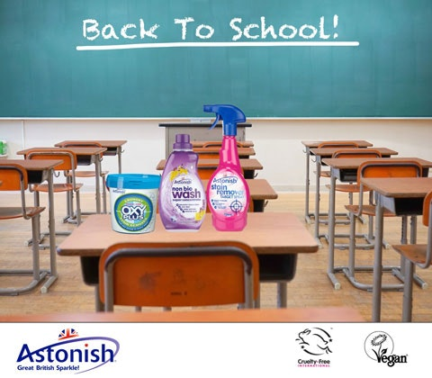Back to school astonish