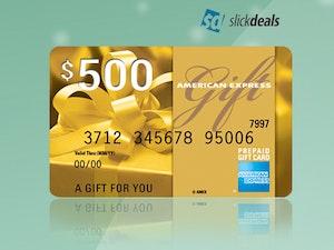 Slickdeals amex giftcard bts giveaway