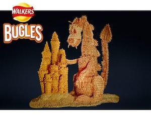 Bugles crisp giveaway