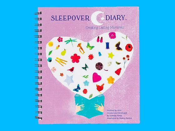 Sleepover diary girlsworld prize