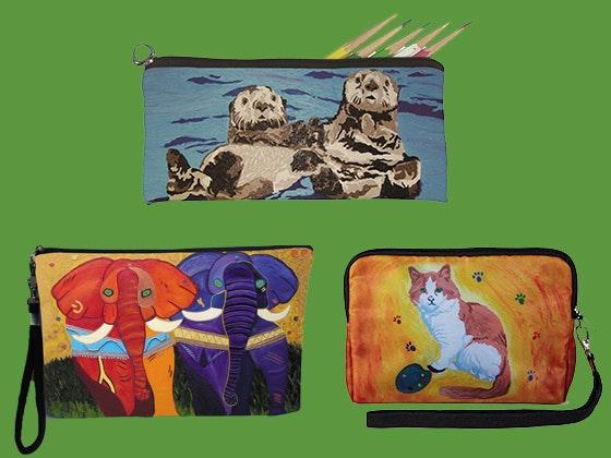 Salvador kitti pouches animaltales prize