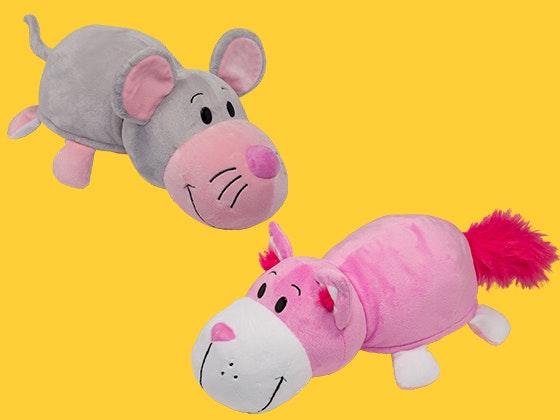 Flipazoo pillow animaltales prize