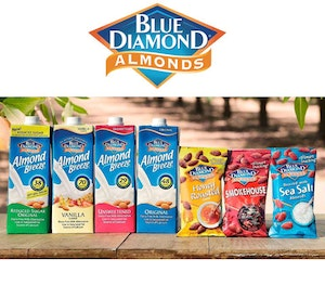 Blue diamond almonds competition