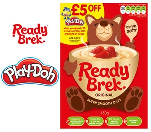 Ready brek play doh competition