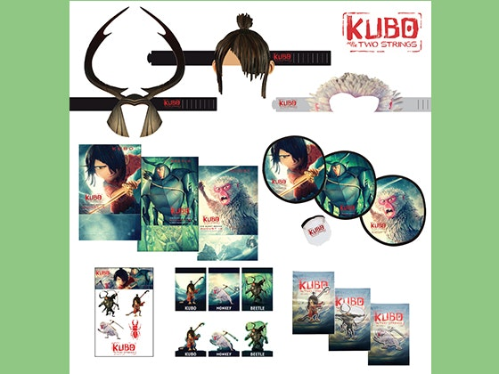 Kubo movie giveaway
