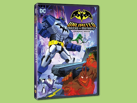 Batman mechs mutants dvd giveaway