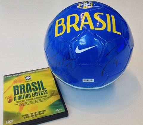 Ball and dvd
