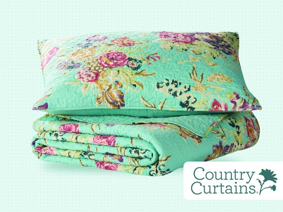 Win a Lorelei Quilt Set from Country Curtains! - Closer Weekly