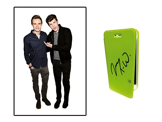 James tw signed phone j14 giveaway
