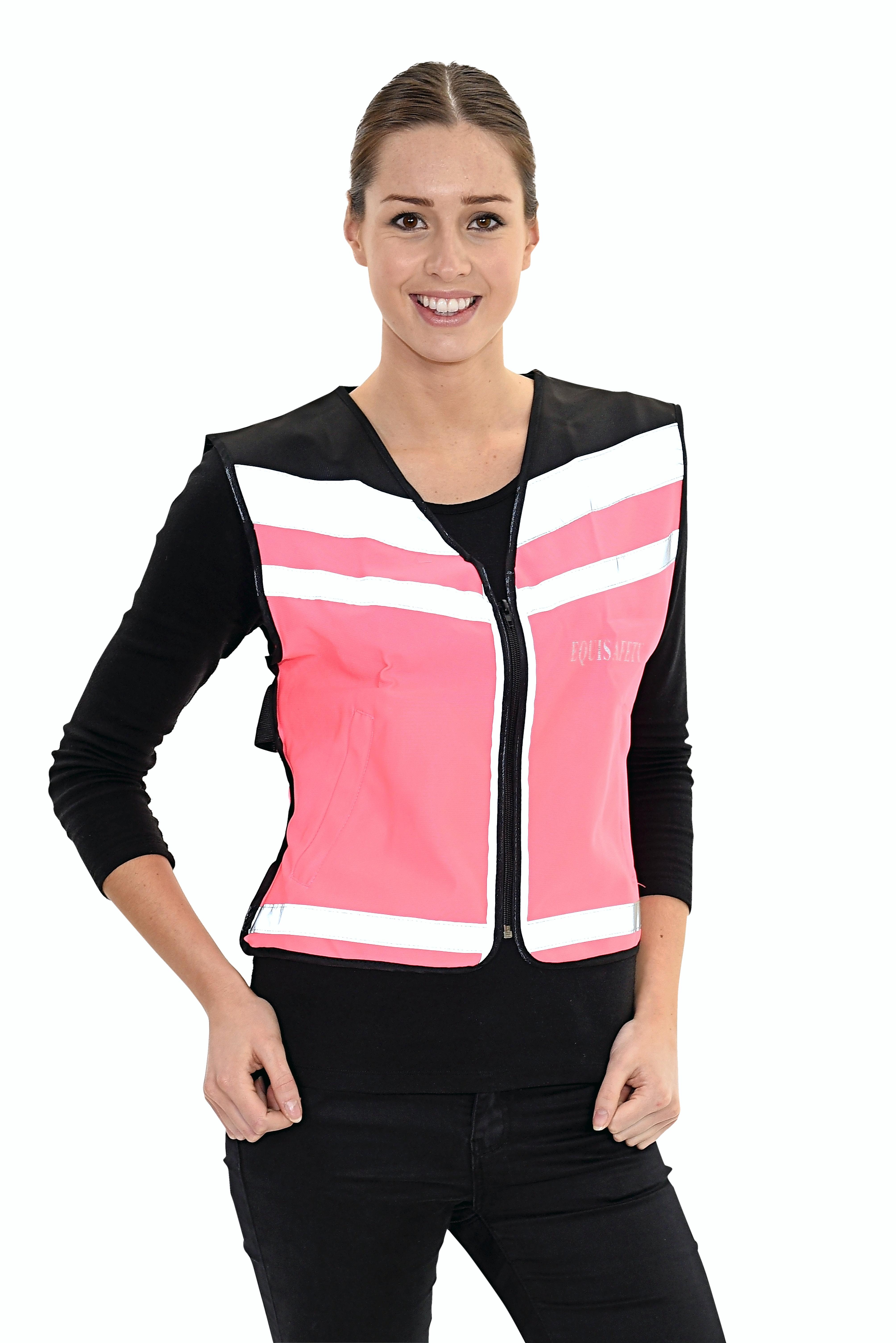 Pink air waistcoat