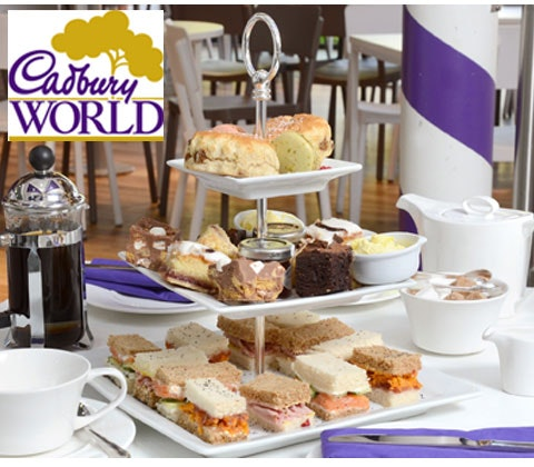 Afternnon tea cadbury world  competition