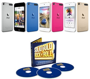 Solidgoldrock cd ipod touch competition