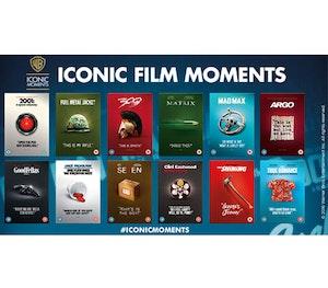 Iconic film moments men