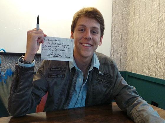 Jacob bertrand postcard giveaway