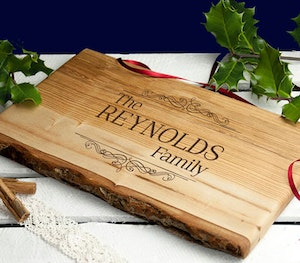 Personlised chopping board