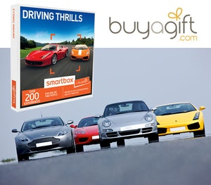 Buyagift driving thrills smartbox competition