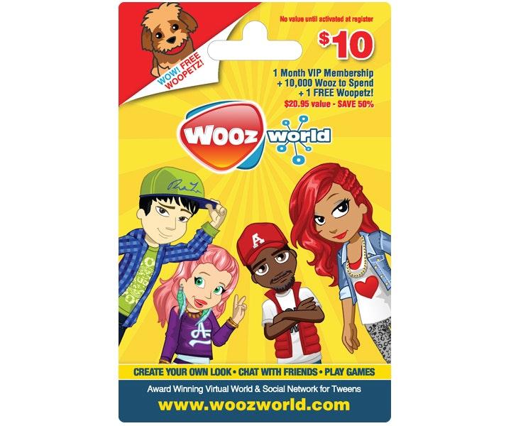Woozworld gift card giveaway gw