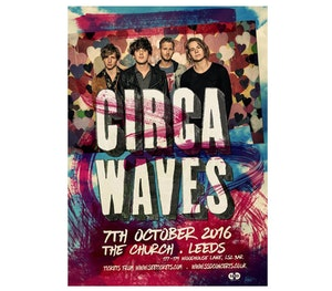 Circa waves leeds the church competition