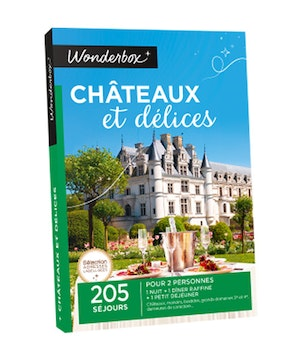 Wonderbox chateauxetdelices