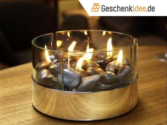Geschenkidee tischkamin with logo 2