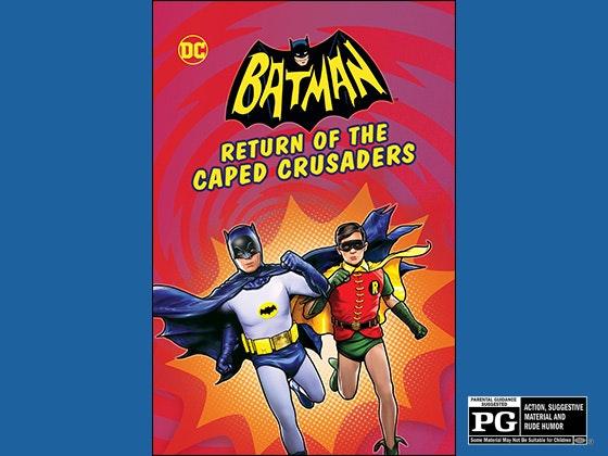 Batman crusaders giveaway