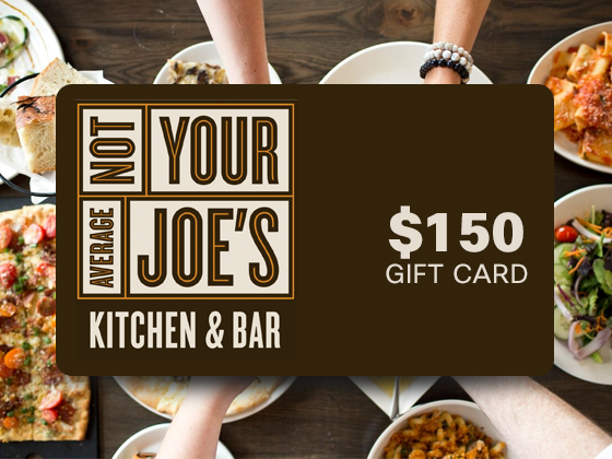 Not your average joes giftcard giveaway main