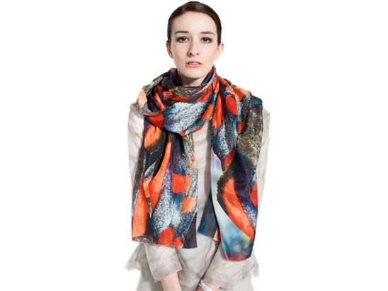 Claire alexander scarf competition