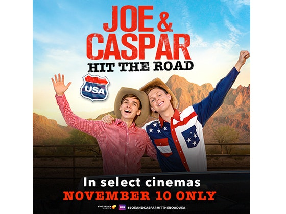 Joe caspar ticket giveaway