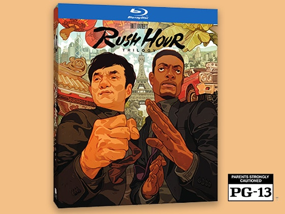 Rush hour trilogy giveaway