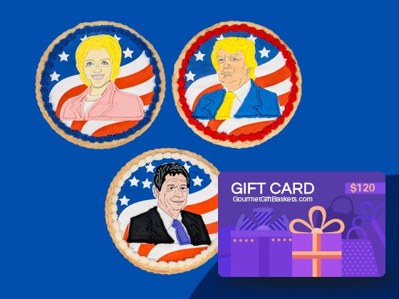Gourmet giftbaskets presidential cookie giveaway
