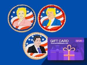 Gourmet giftbaskets presidential cookie giveaway