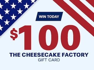 Election day giveaway cheesecake factory 1