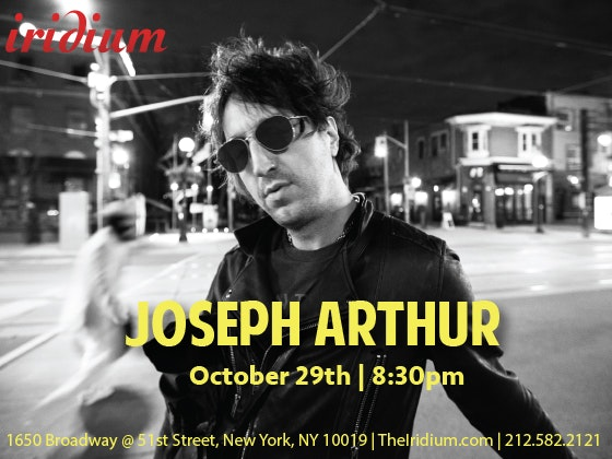 Joseph arthur iridium giveaway