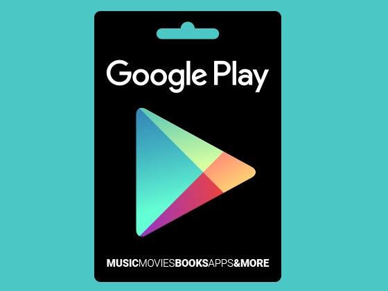Googleplay giftcard giveaway