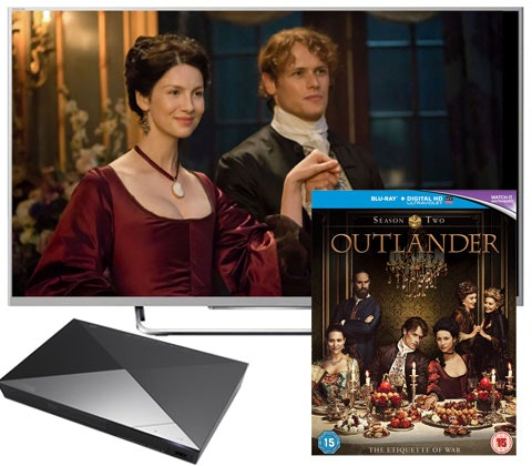 Tv blu ray player outlanders s2 competition