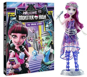 Monster high dvd doll competition