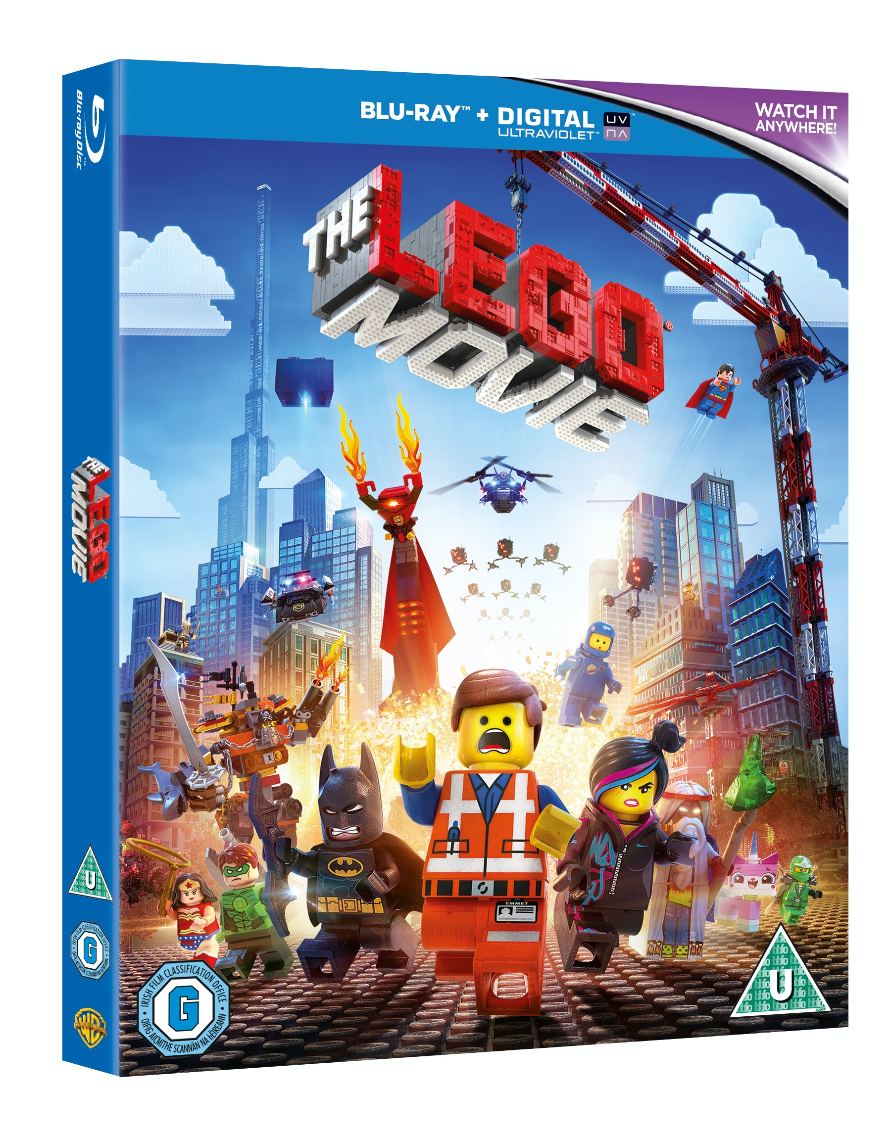 Lego movie bd 3d cert