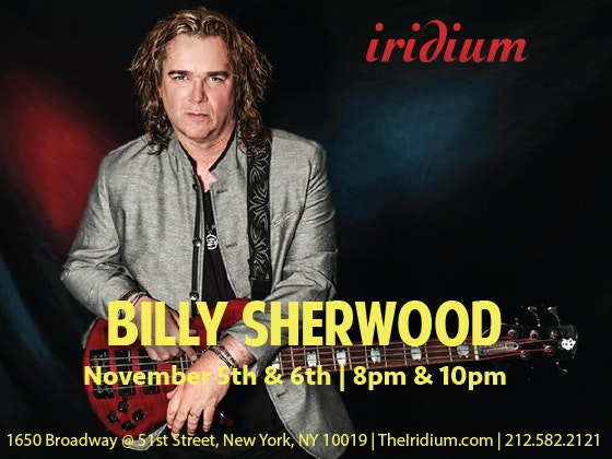 Billy sherwood iridium giveaway