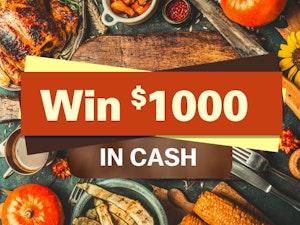 1000 cash giveaway november 2016 1