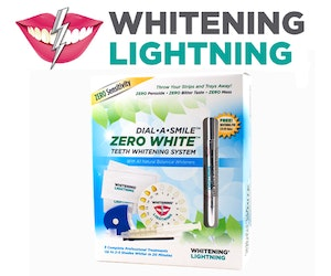 Whitening lightning giveaway